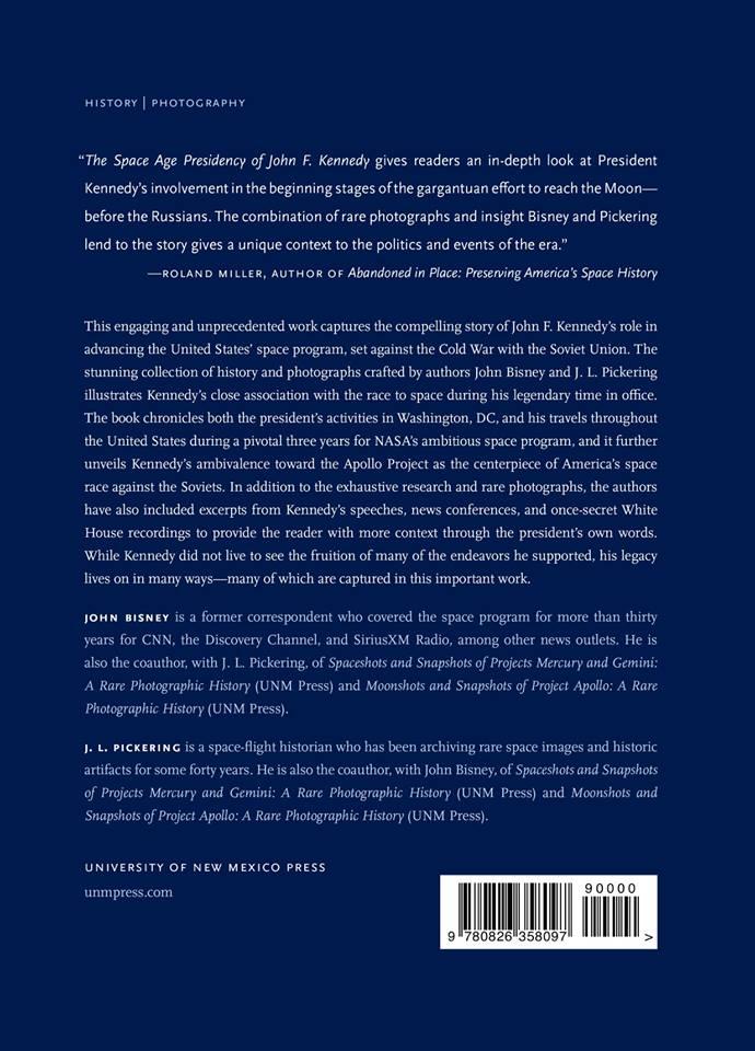 JFK Book Back Page